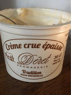 Crème crue épaisse - Product