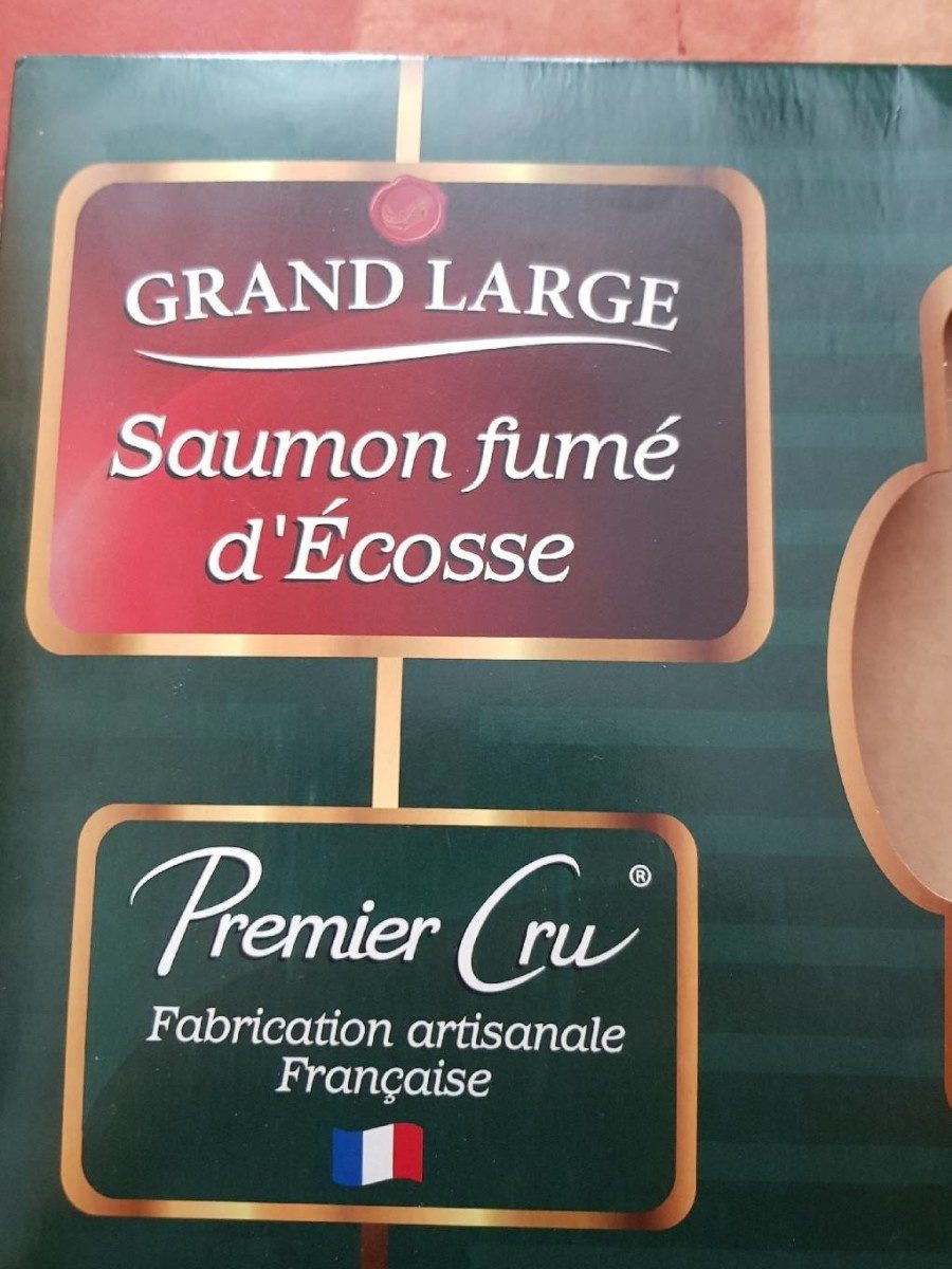 Saumon fumé d Écosse - Product - fr