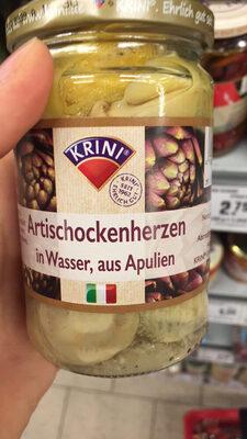 Krini Cœurs d'artichauts dans l'eau - Product