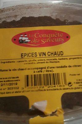 Épices vin chaud - Product