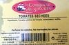 Tomates séchées 100 g - Produit