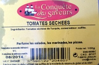 Tomates séchées 100 g - Product - fr