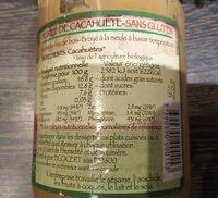 Purée de cacahuètes - Voedingswaarden - fr