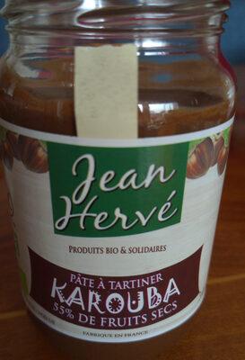 Pâte à tartiner KAROUBA Noisette-Caroube - Produit - fr