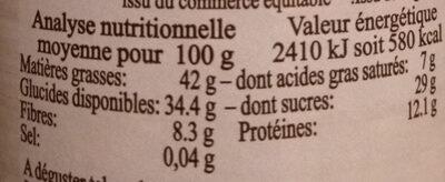 Pâte à tartiner KAROUBA Noisette-Caroube - Informations nutritionnelles - fr