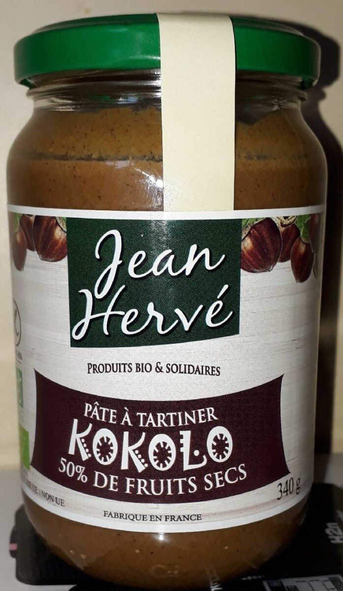 Pâte à tartiner KOKOLO Noisette-Noix de coco - Product - fr