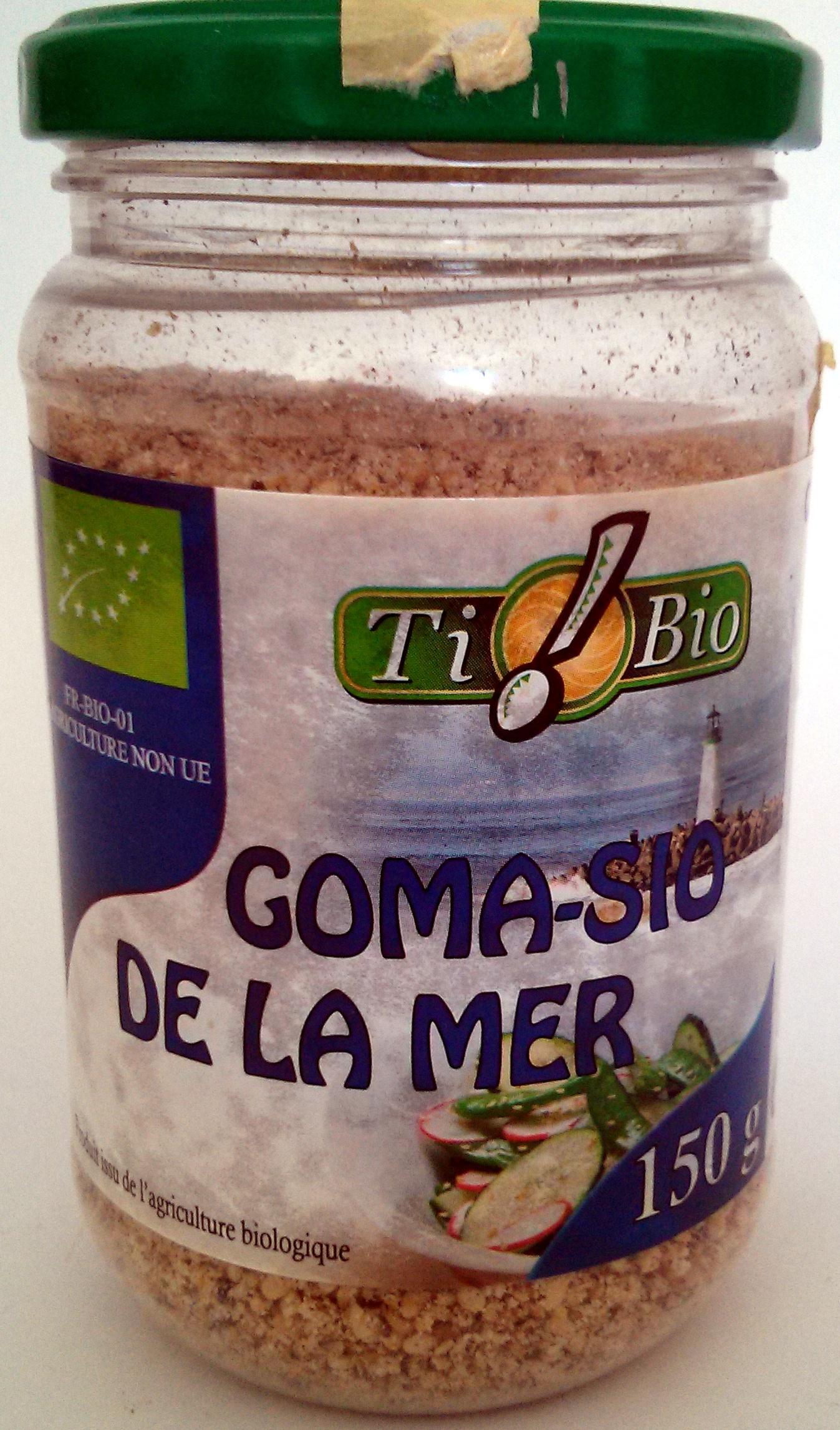 Goma-sio de la mer - Produit