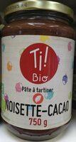 Pâte à tartiner noisette cacao - Prodotto - fr