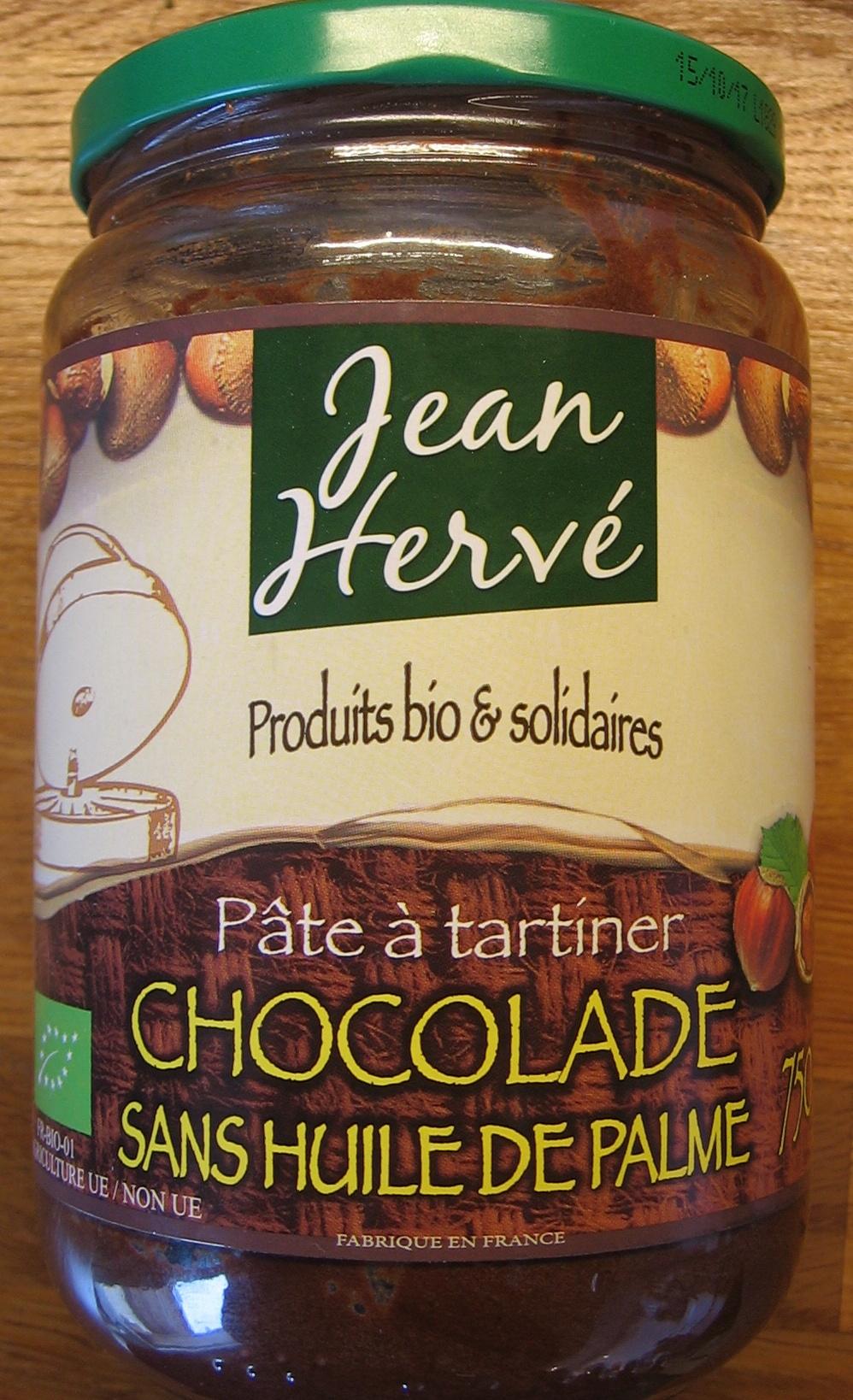 Chocolade Sans Huile de Palme - Product - fr