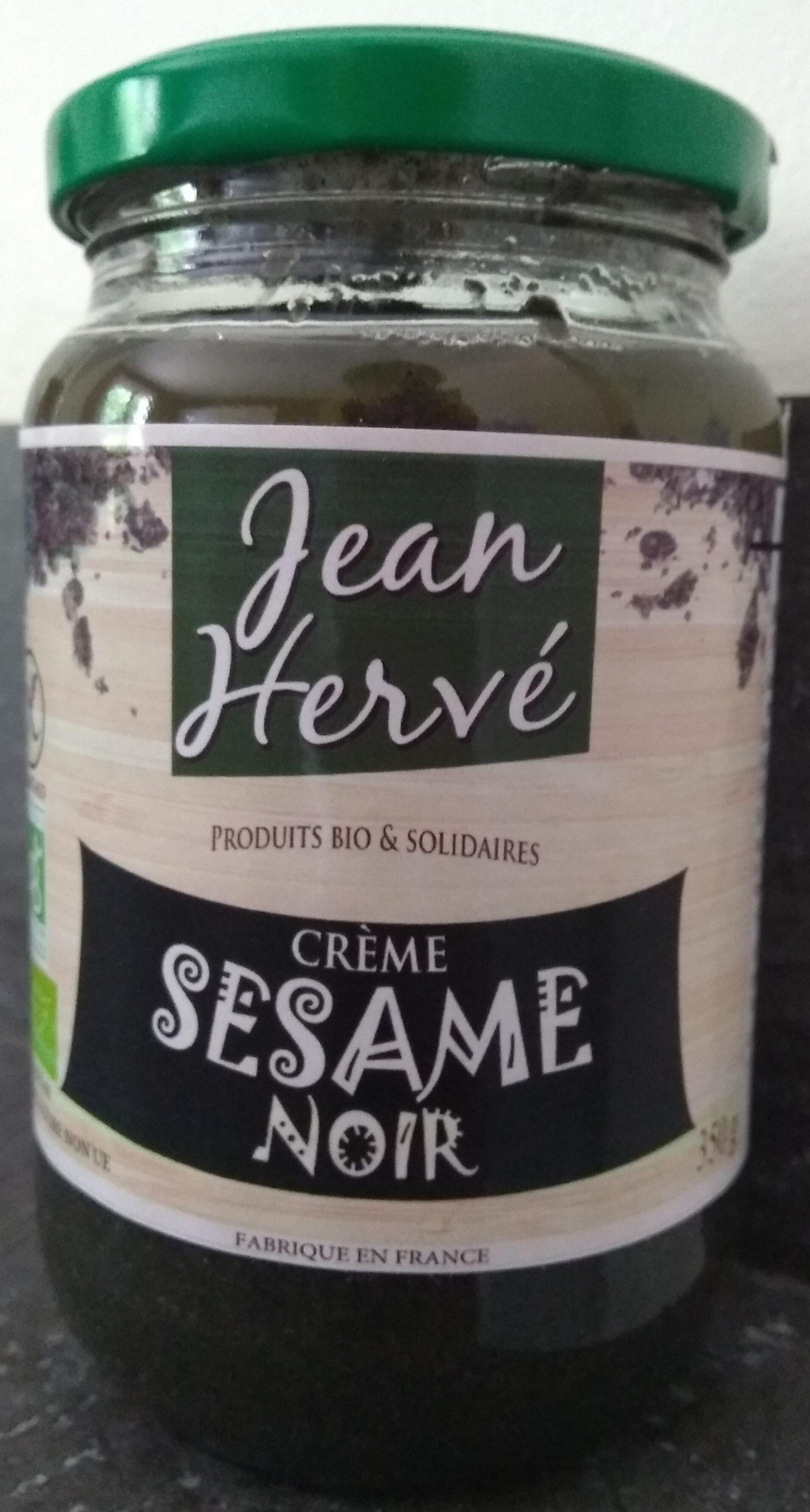 Crème sésame noir - Produit - fr