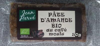 Pâte d'amande bio au café moulu - Product