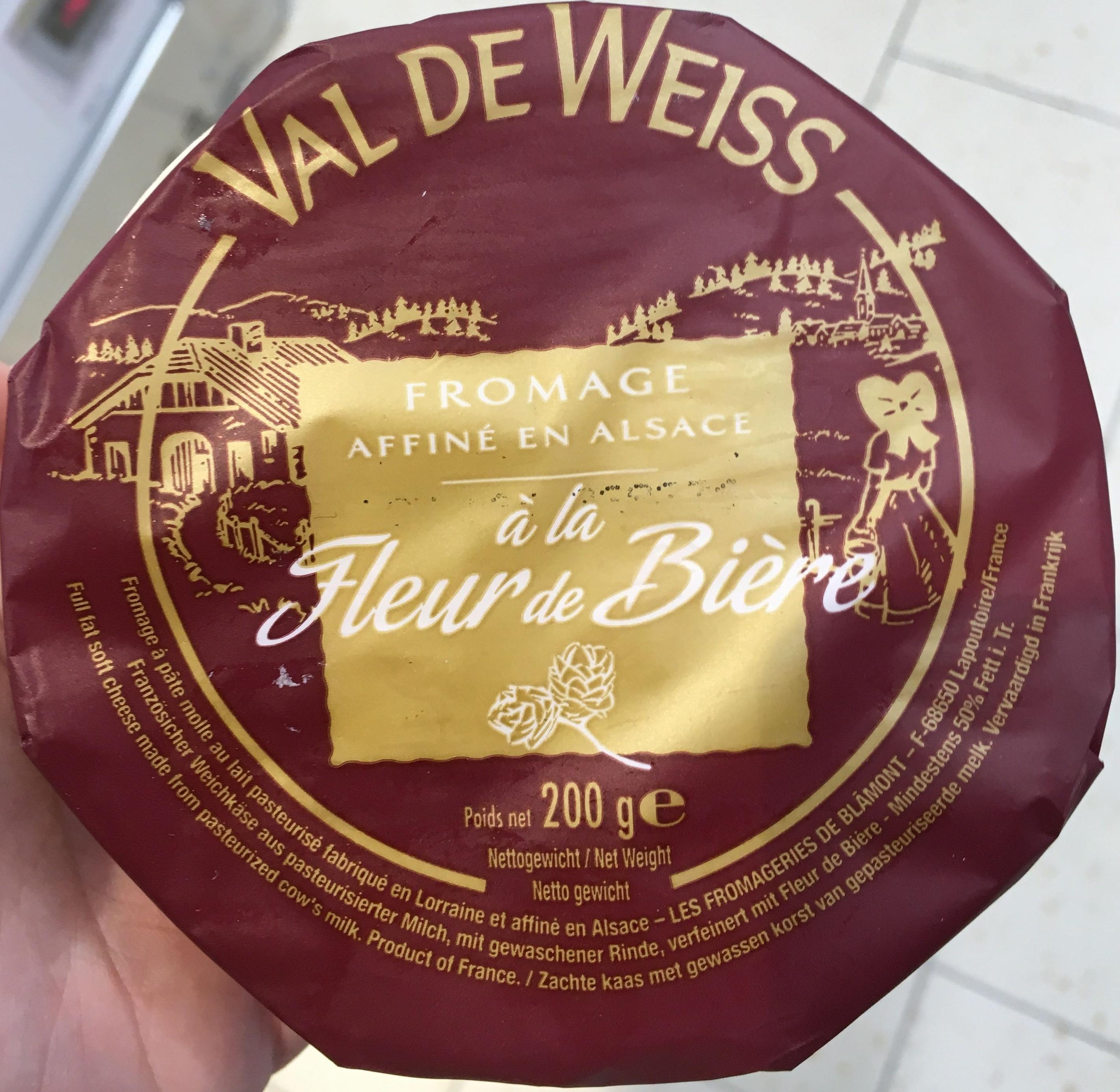 Fromage à la fleur de Bière (28% MG) - Product
