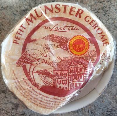Petit Munster Gérome - Produit