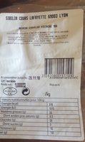 Brioche Cervelas pistaché 1 kg - Produit
