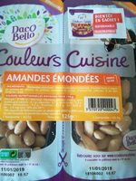 Amandes émondées - Produit - fr