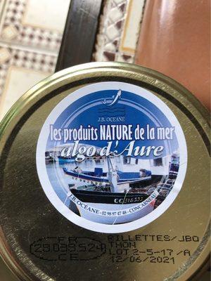 Rillettes De Thon Aux 3 Algues - Produit - fr