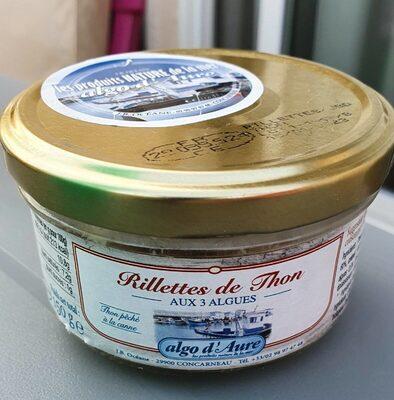 Rillettes De Thon Aux 3 Algues - Informations nutritionnelles - fr