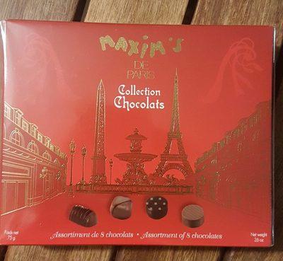 Assortiment de chocolats Maxims - Produit