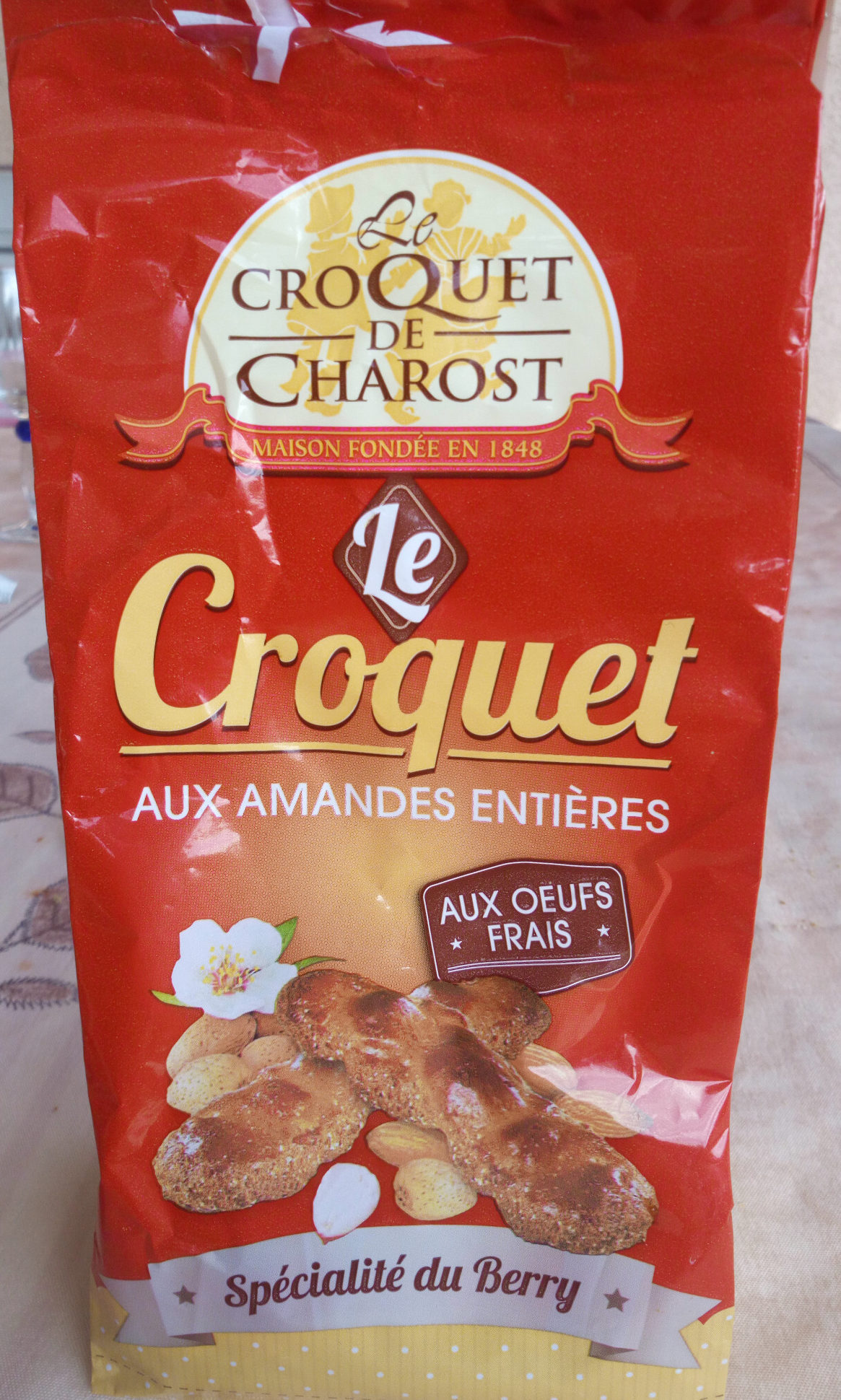 Le Croquet aux amandes entières - Product