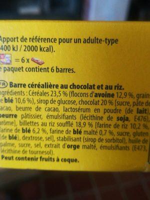 Grany - Ingrediënten - fr