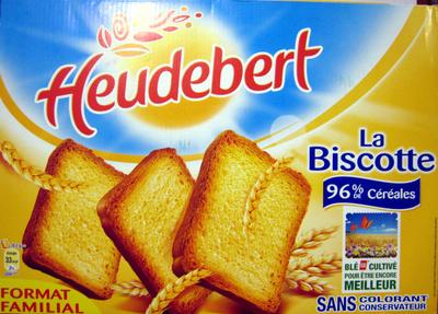 La Biscotte Heudebert - Product