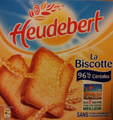 La Biscotte 96 % céréales - Product