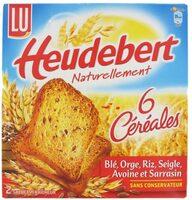 Biscottes 6 Céréales - Product - en