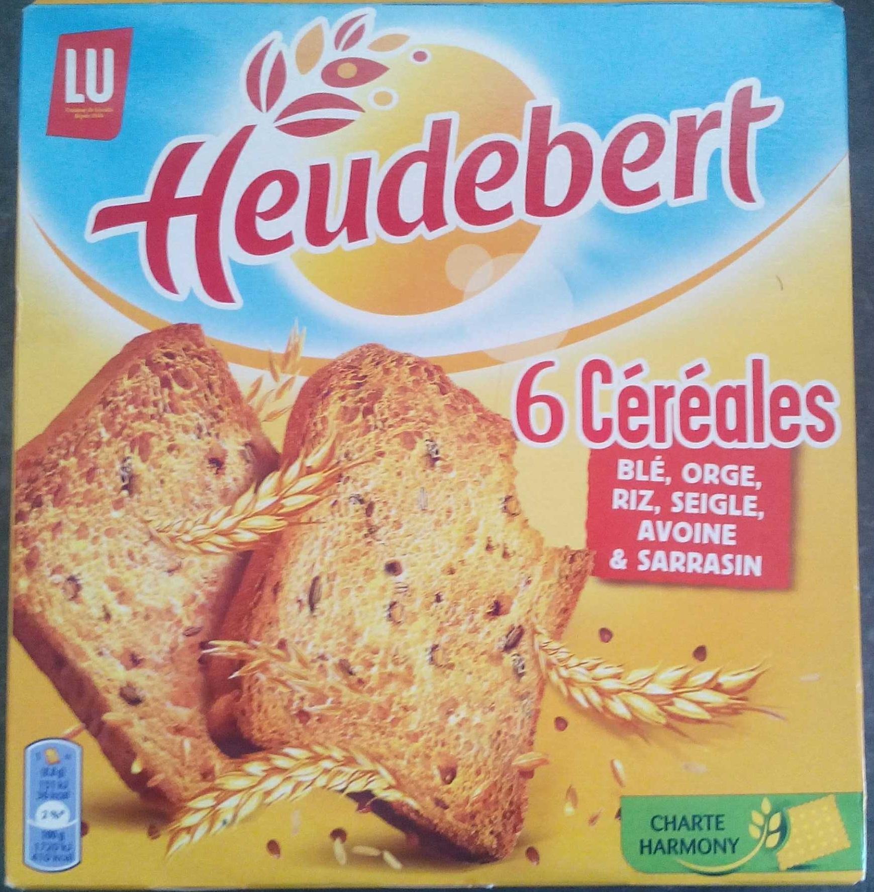 Biscottes 6 Céréales - Produit - fr