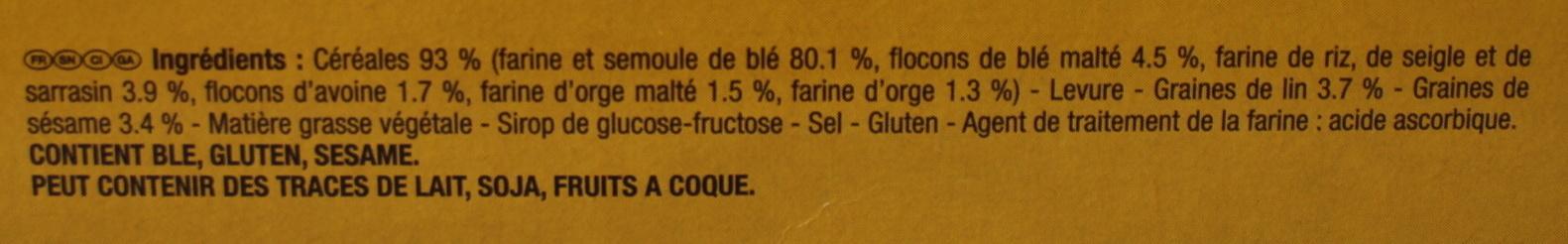 Biscottes heudebert - Ingrediënten