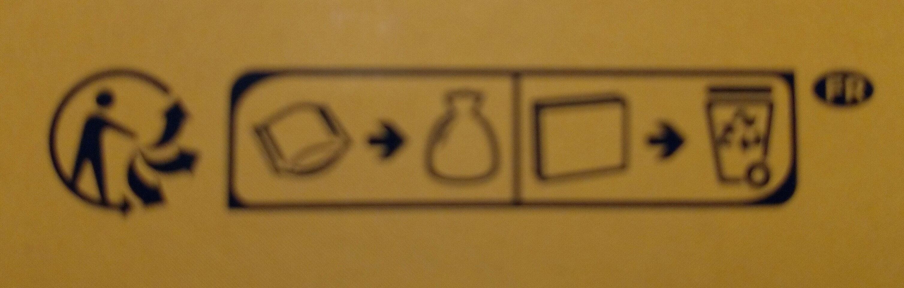 Biscottes 6 Céréales - Instruction de recyclage et/ou information d'emballage - fr