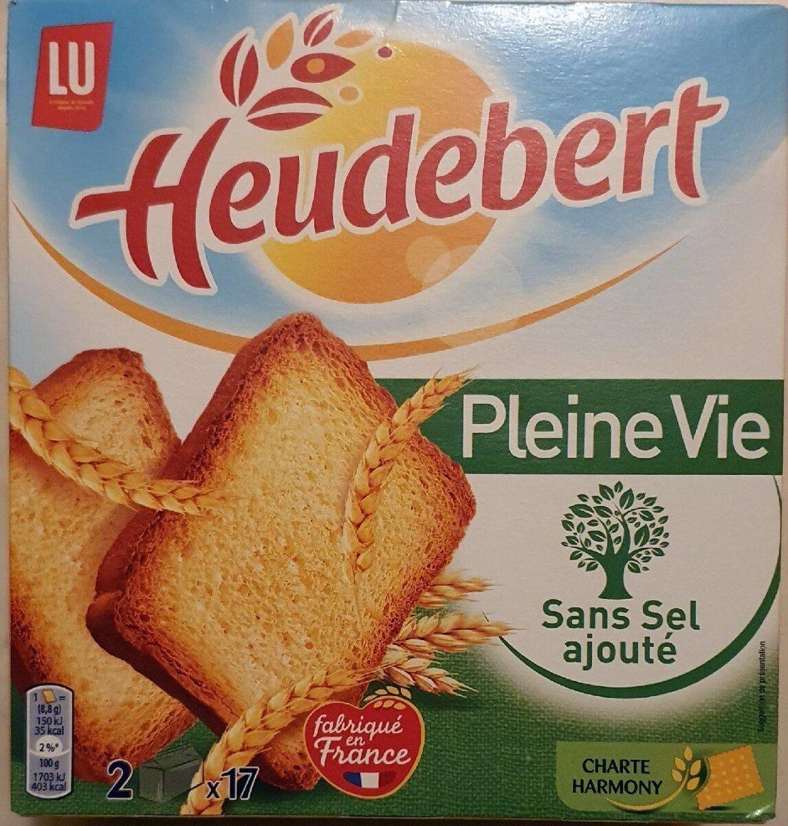 Heudebert biscottes sans sel ajouté - Product - fr
