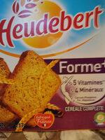 Heudebert biscottes Forme+ - Product - fr