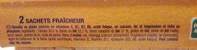Heudebert Forme + - Ingredientes