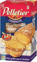 Pain grillé aux 6 céréales - Producto - fr
