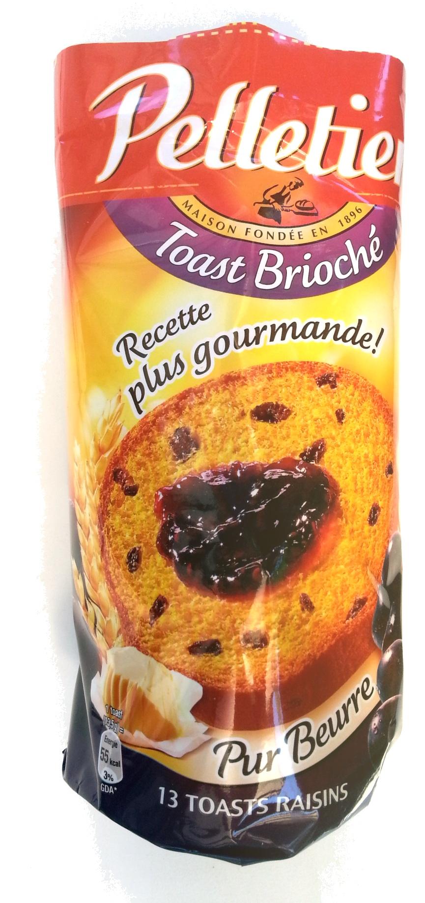 Toast Brioché Raisins - Product