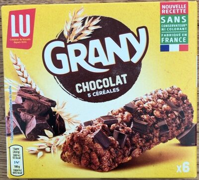 Grany Chocolat 5 Céréales - Product - fr