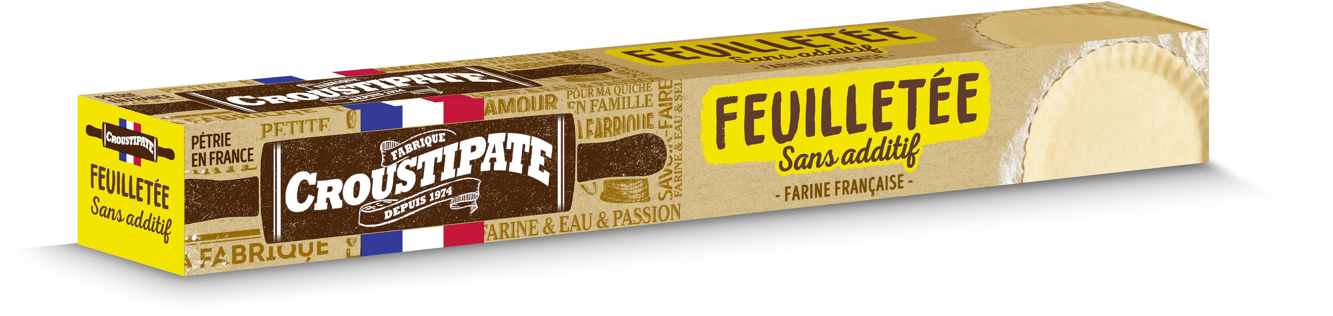 Pâte feuilletée sans additif - Product - fr