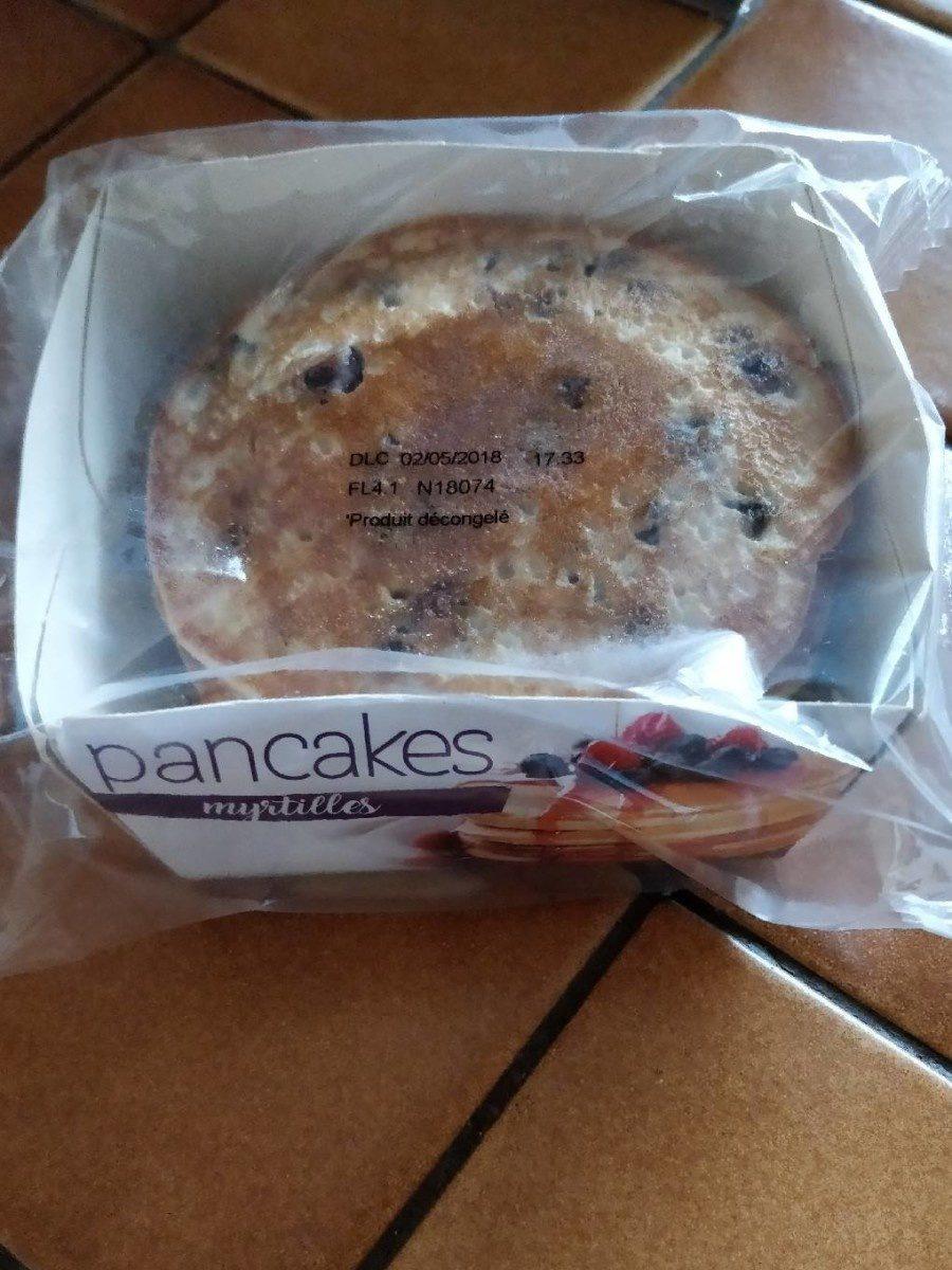 Pancakes Myrtilles - Product - fr