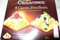 Croustipate - Produit
