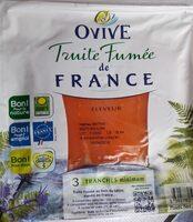 Truite fumée de France - Product