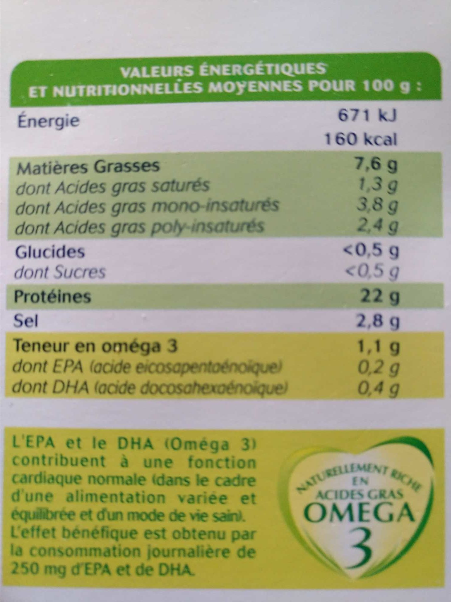 Truite Fumée Pyrénées (4 tranches) - 120 g - Ingrédients - fr