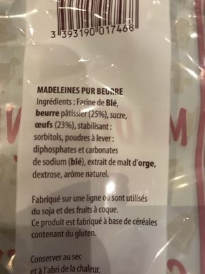 Madeleines royales de Commercy - Product - fr