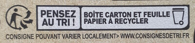 Le Chèvre - Recycling instructions and/or packaging information - fr