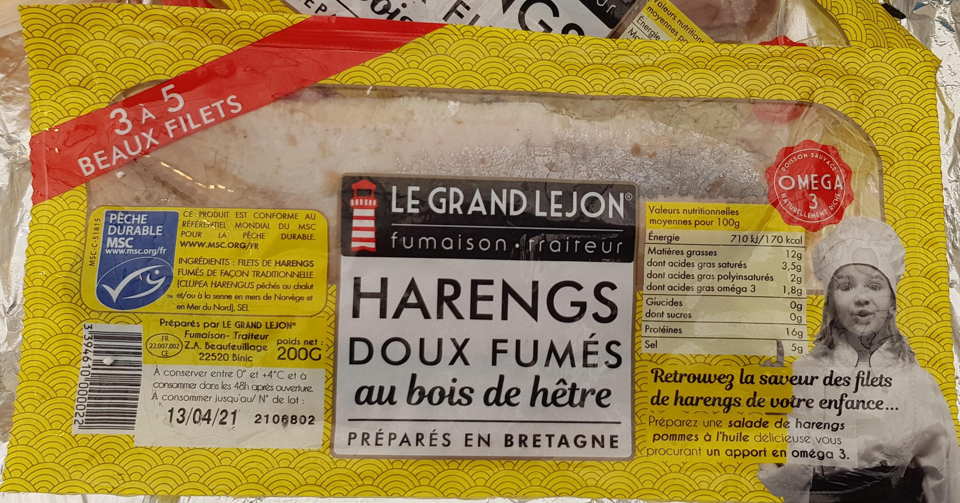 Filets De Harengs Doux Fumés - Prodotto - fr