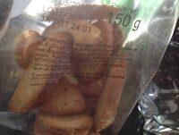 Les toasts de baguette croustillants - Ingrediënten