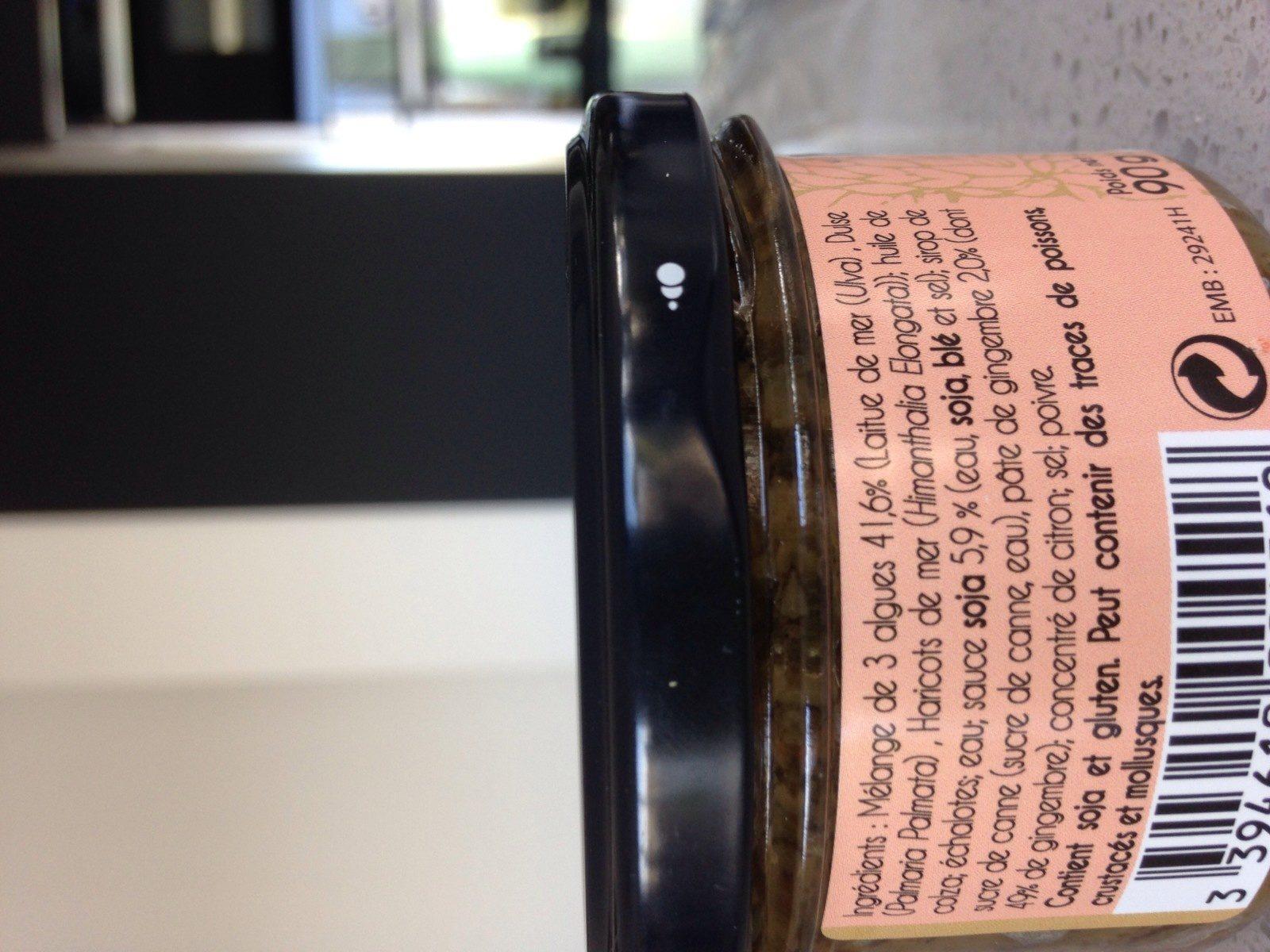 Tartare aux Algues - Ingredients