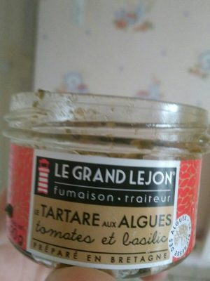 Le tartare aux algues - Product