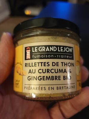 rillettes de thon au curcuma & gingembre bio - Produit