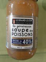 Soupe de poissons 40% bio - Producto - fr