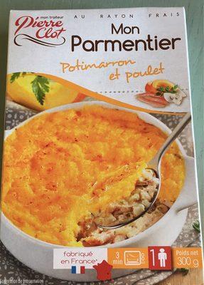 Mon parmentier Potimarron et poulet - 1